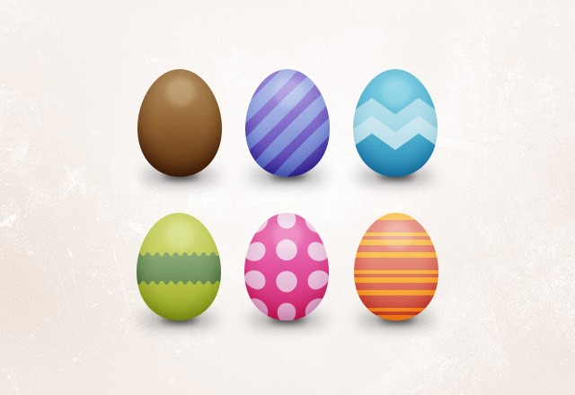 Free Miniature Easter Eggs