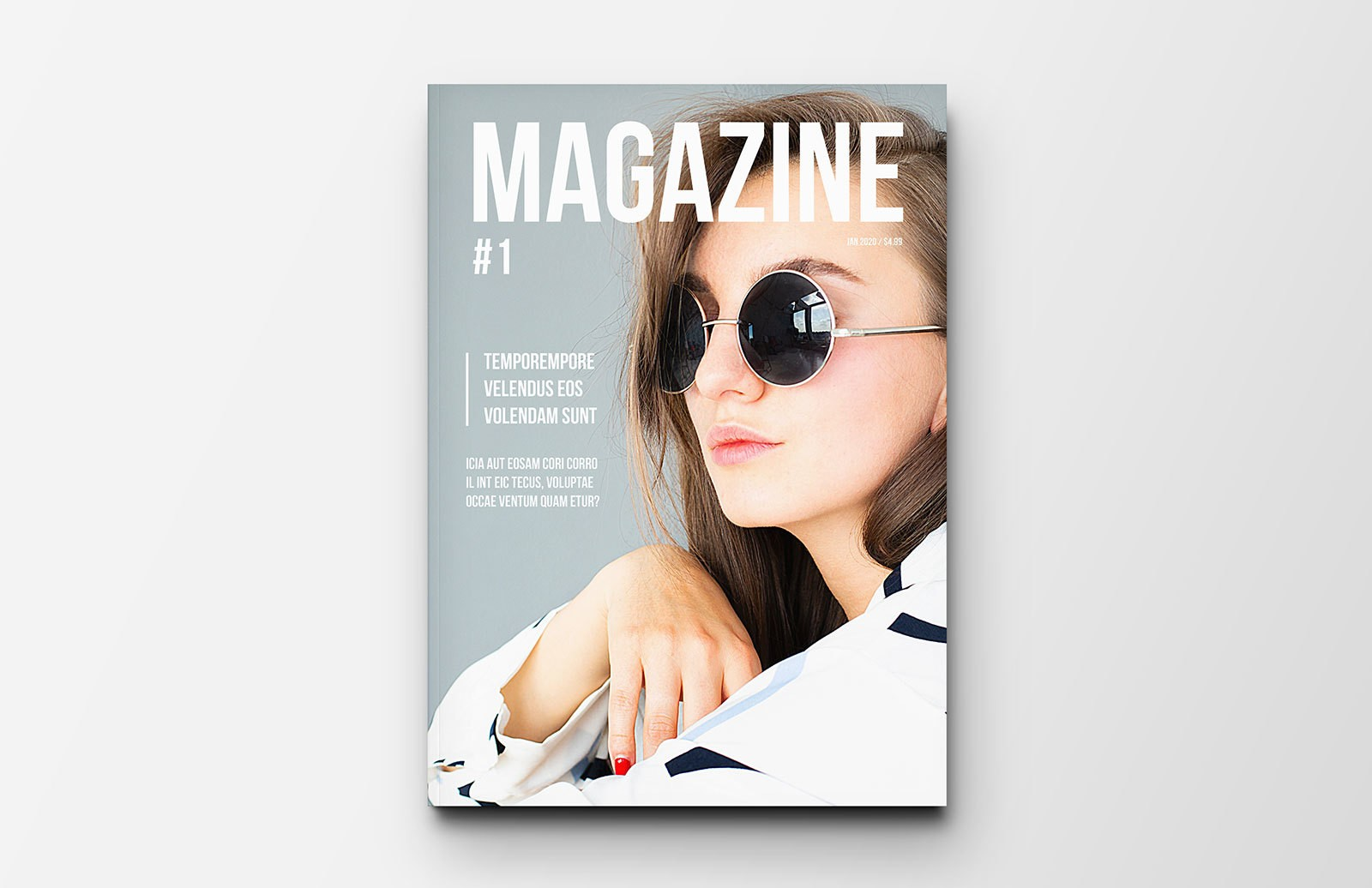 Minimal Magazine Layout Preview 1