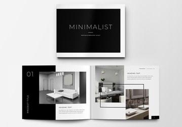 Minimalist Portfolio Brochure Layout