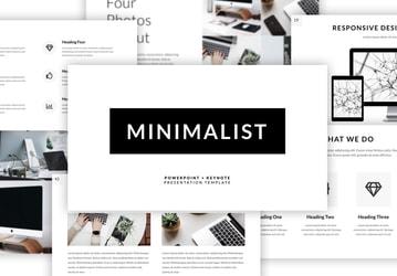 Minimalist Presentation Template