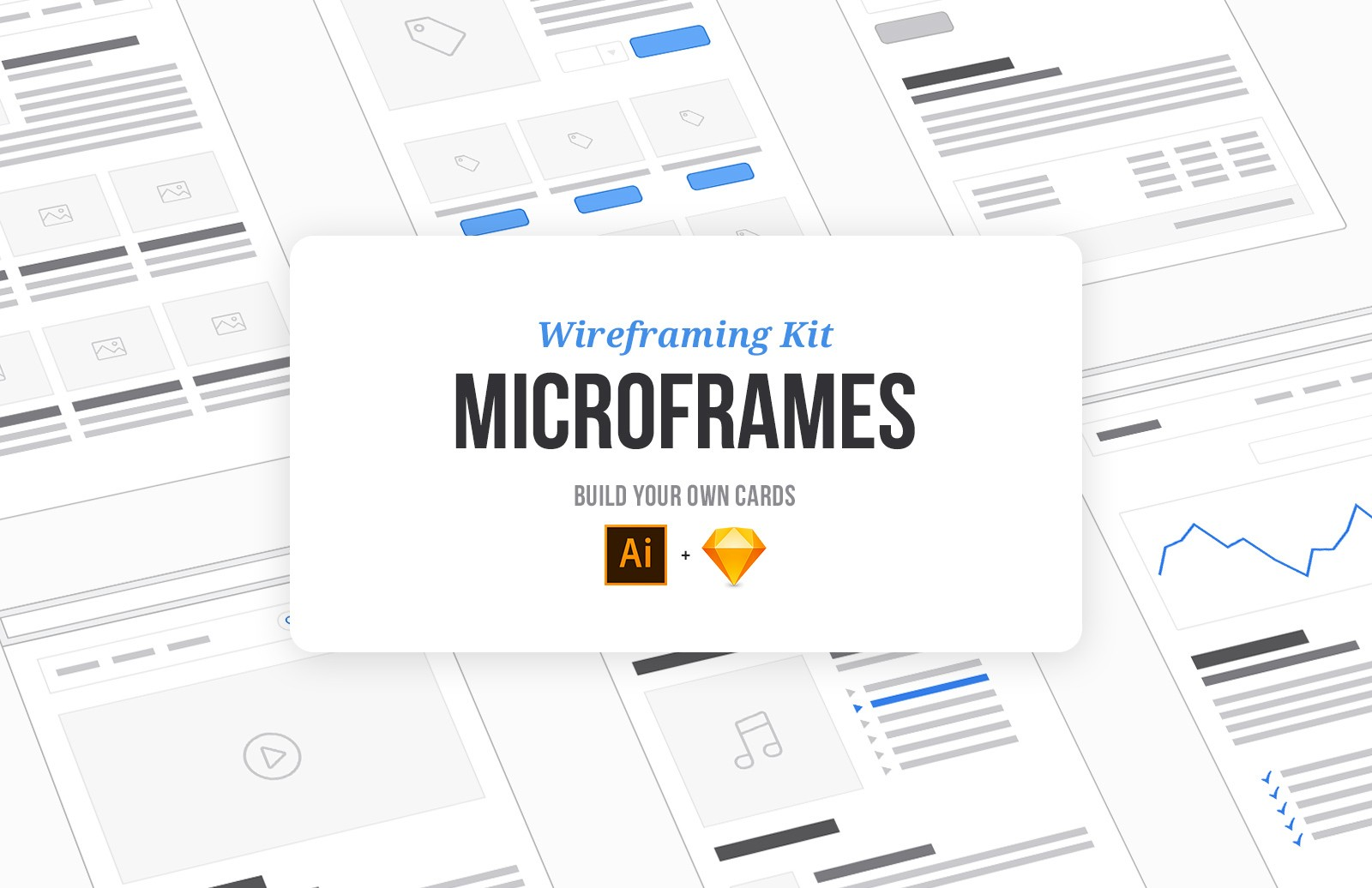 Microframes: Card-based Wireframing Kit