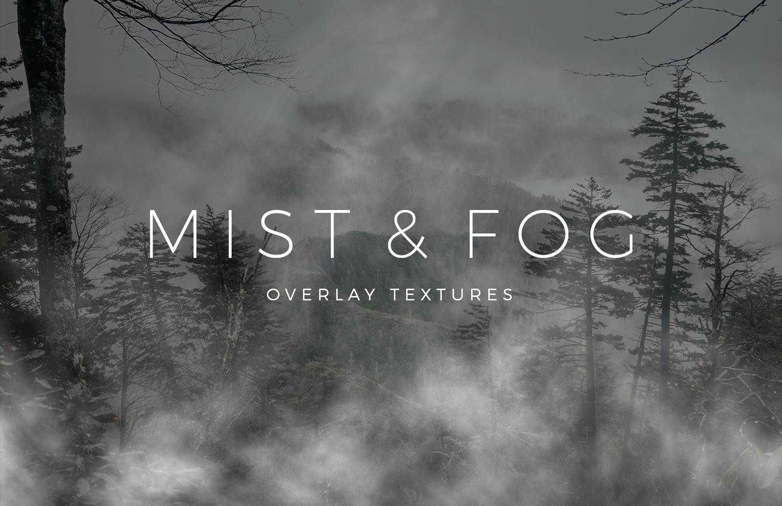 Mist Fog Overlay Textures Preview 1
