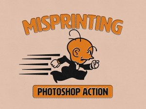 Misprinting Photoshop Action 1