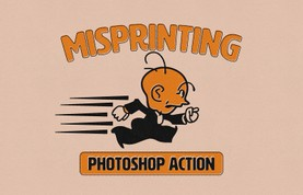 Misprinting Photoshop Action