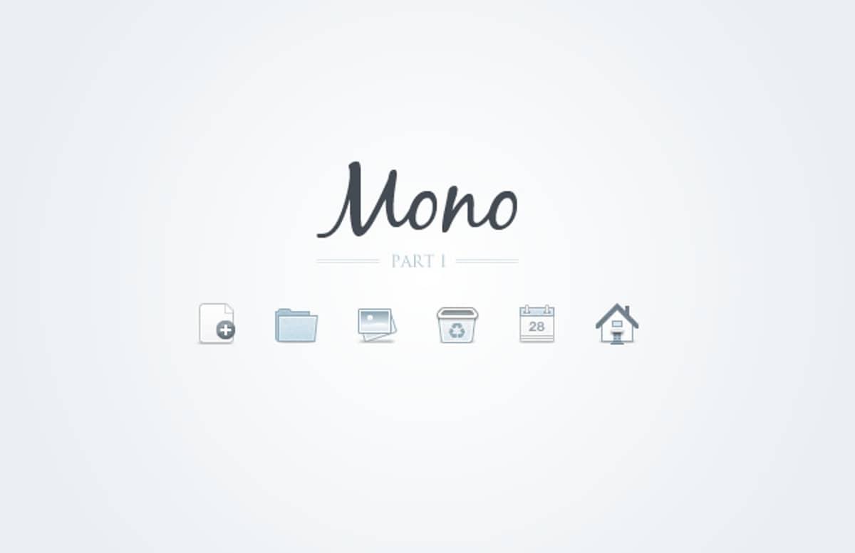 Mono  Icons    Part 1  Preview1
