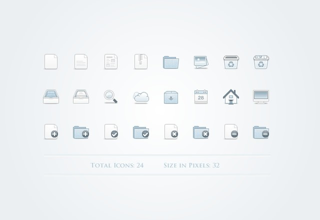 Mono  Icons    Part 1  Preview2