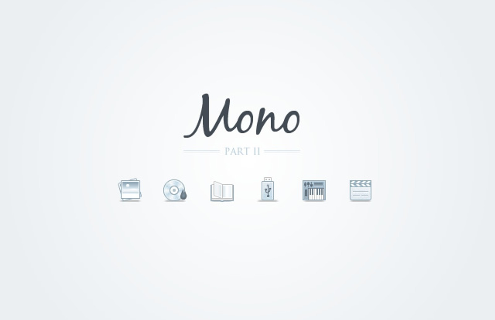 Mono  Icons    Part 2  Preview1