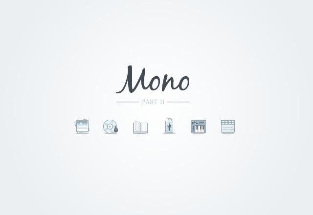 Mono Icons - Part 2