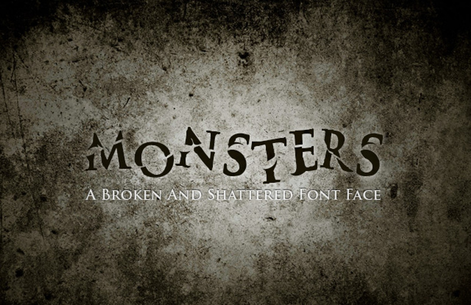 Monsters  Font  Preview1