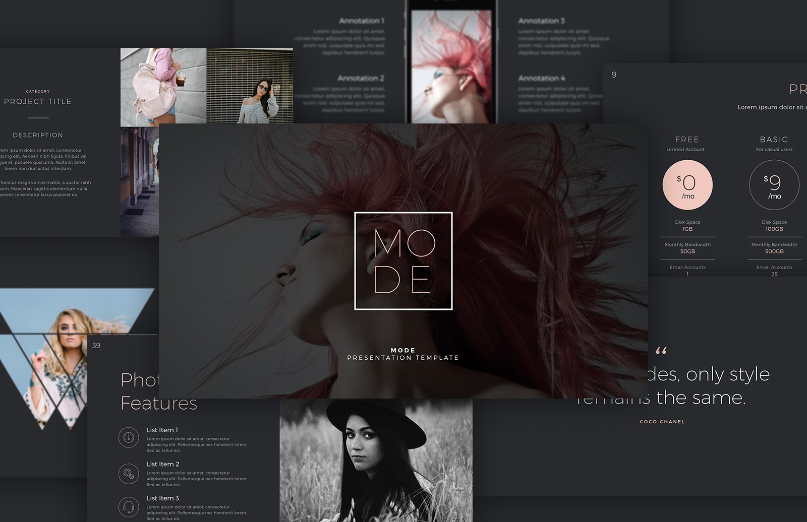 Mode Keynote Template Preview 1