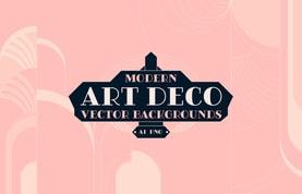 Modern Art Deco Vector Backgrounds