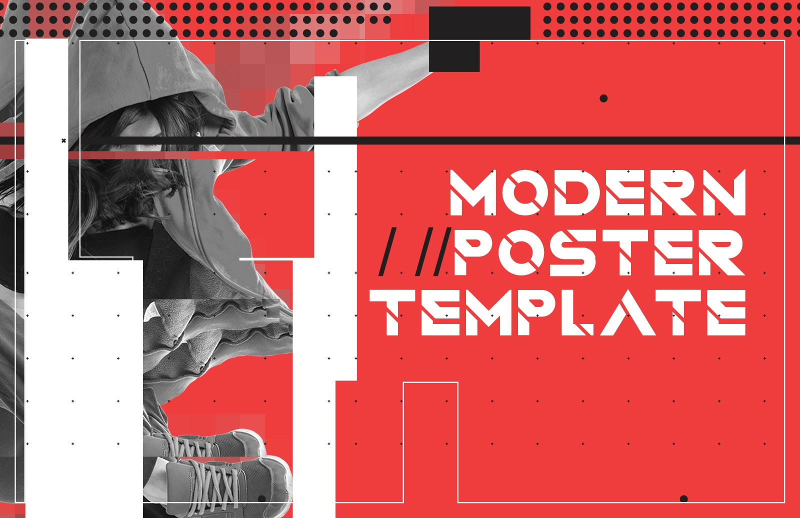 Modern Style Poster Template Preview 1