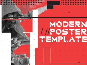 Modern Style Poster Template 1