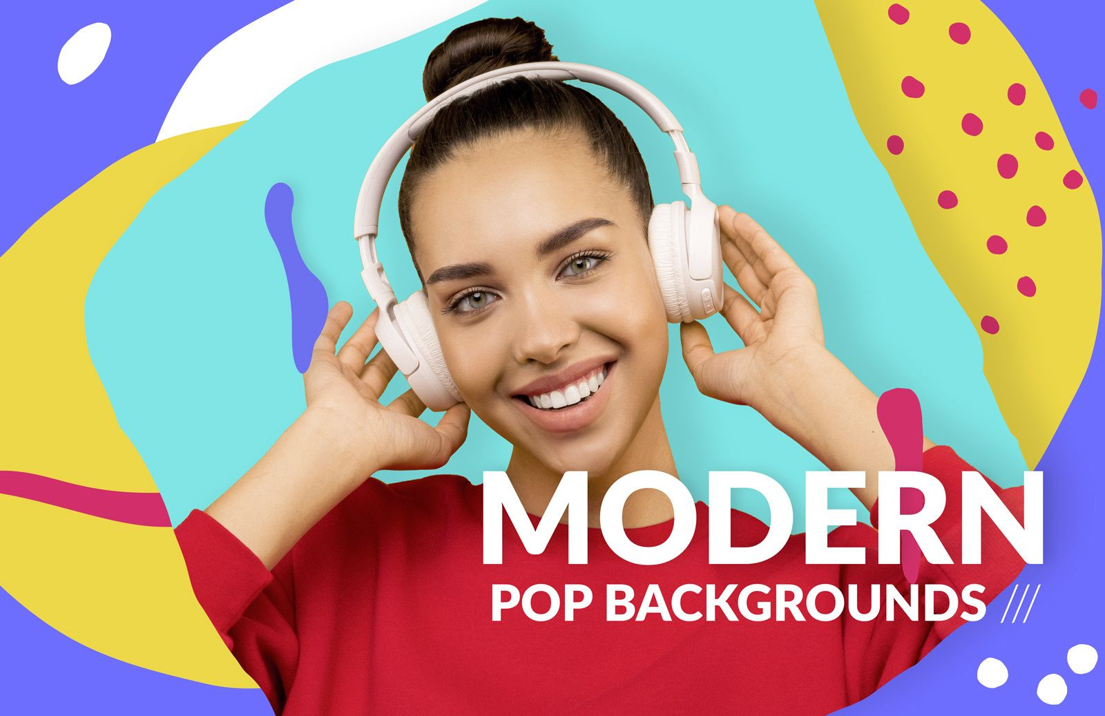 Modern Pop Backgrounds Preview 1
