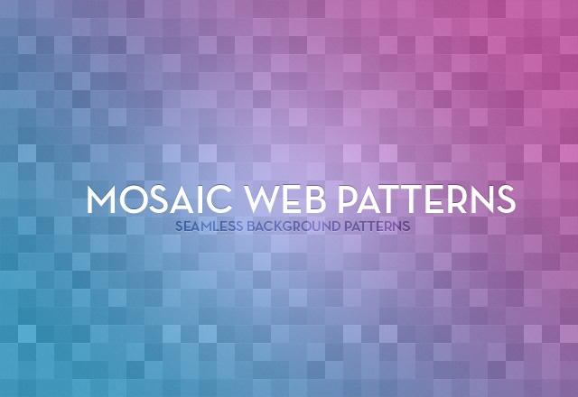 Mosaic  Web  Patterns  Preview1