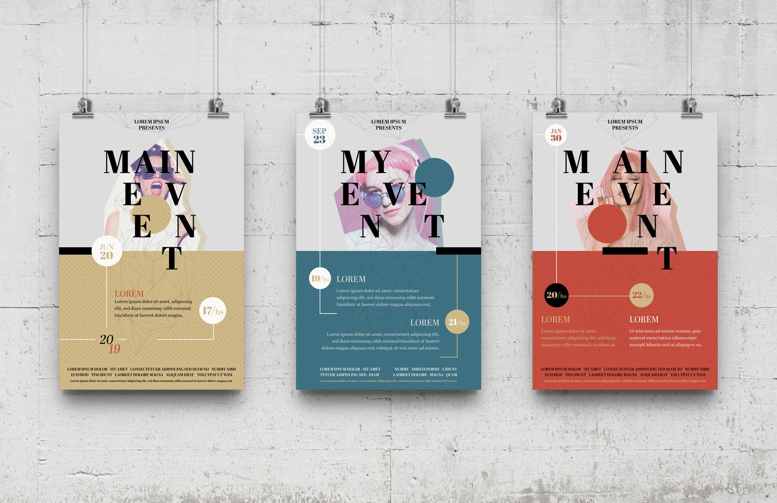 Multipurpose Event Poster Templates