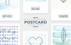 Multipurpose Postcard Templates
