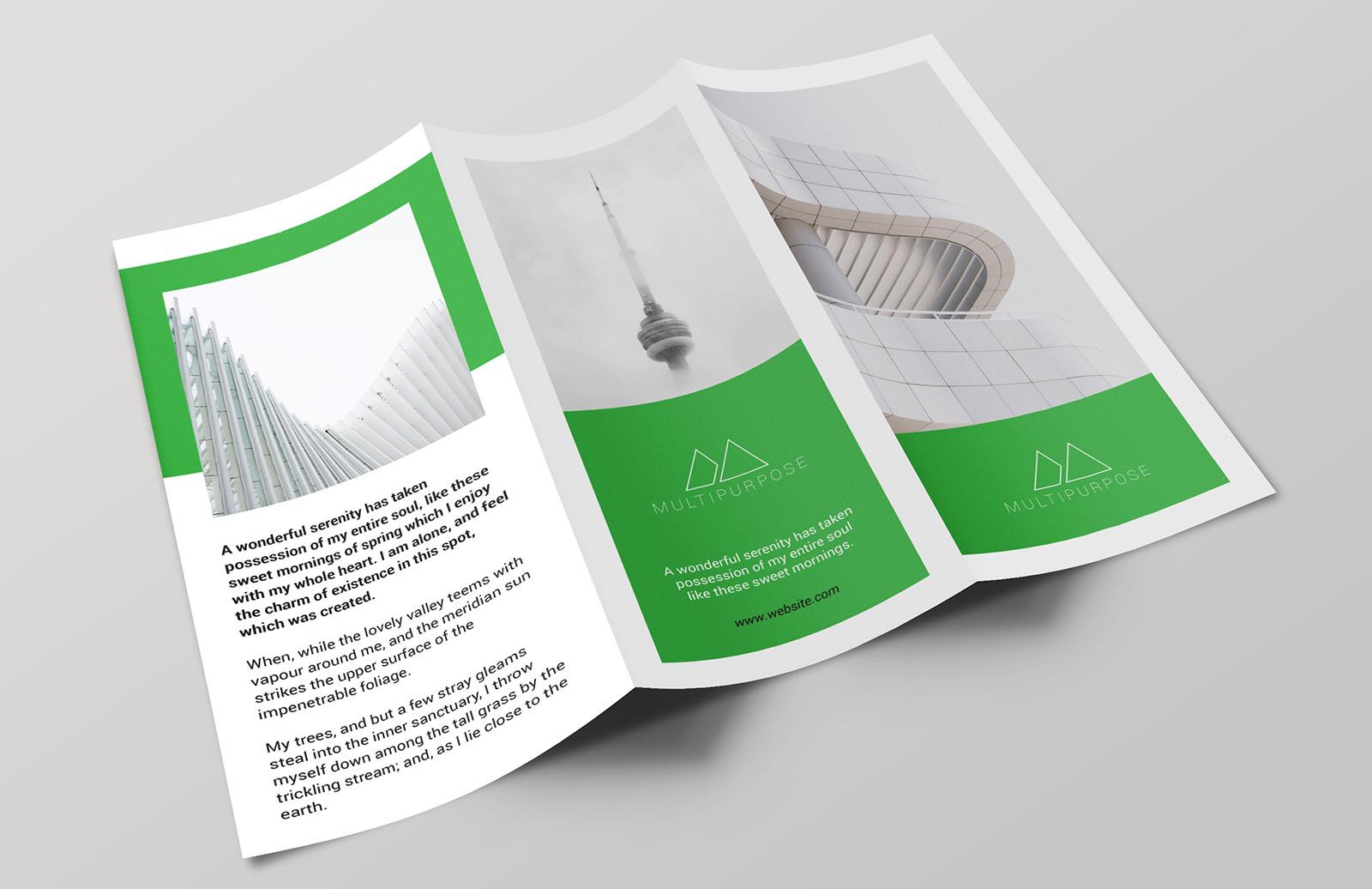 Multipurpose Trifold Brochure 2
