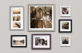 Multiple Photo Frames Mockup