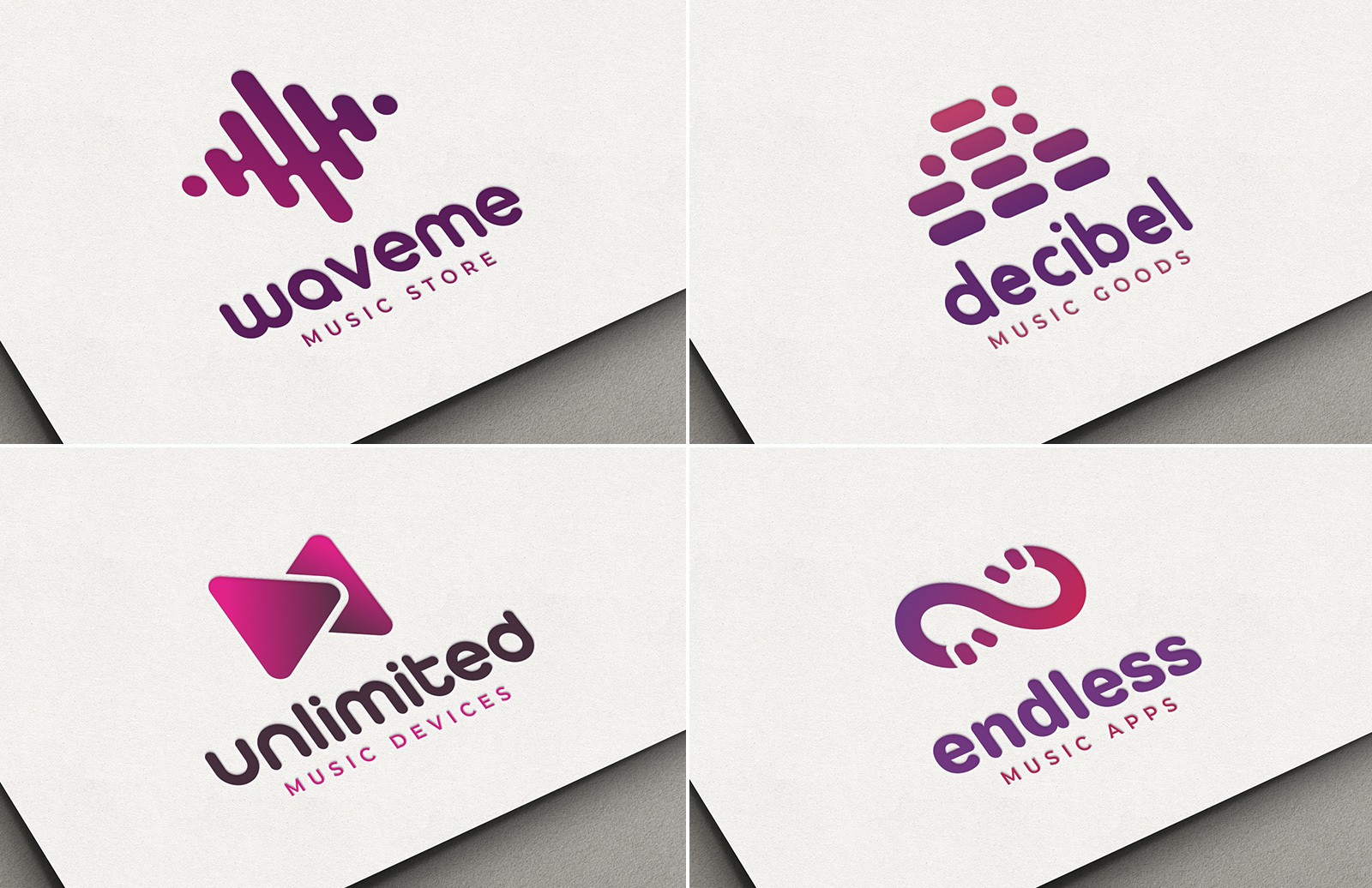 Music Logo Templates Preview 1