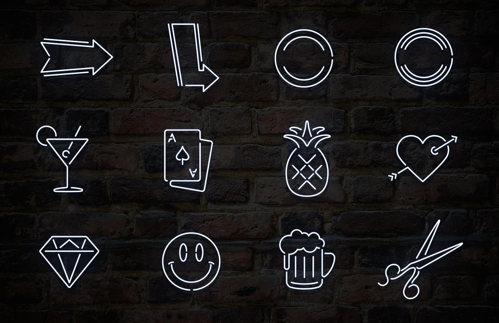Neon Sign Vector Elements