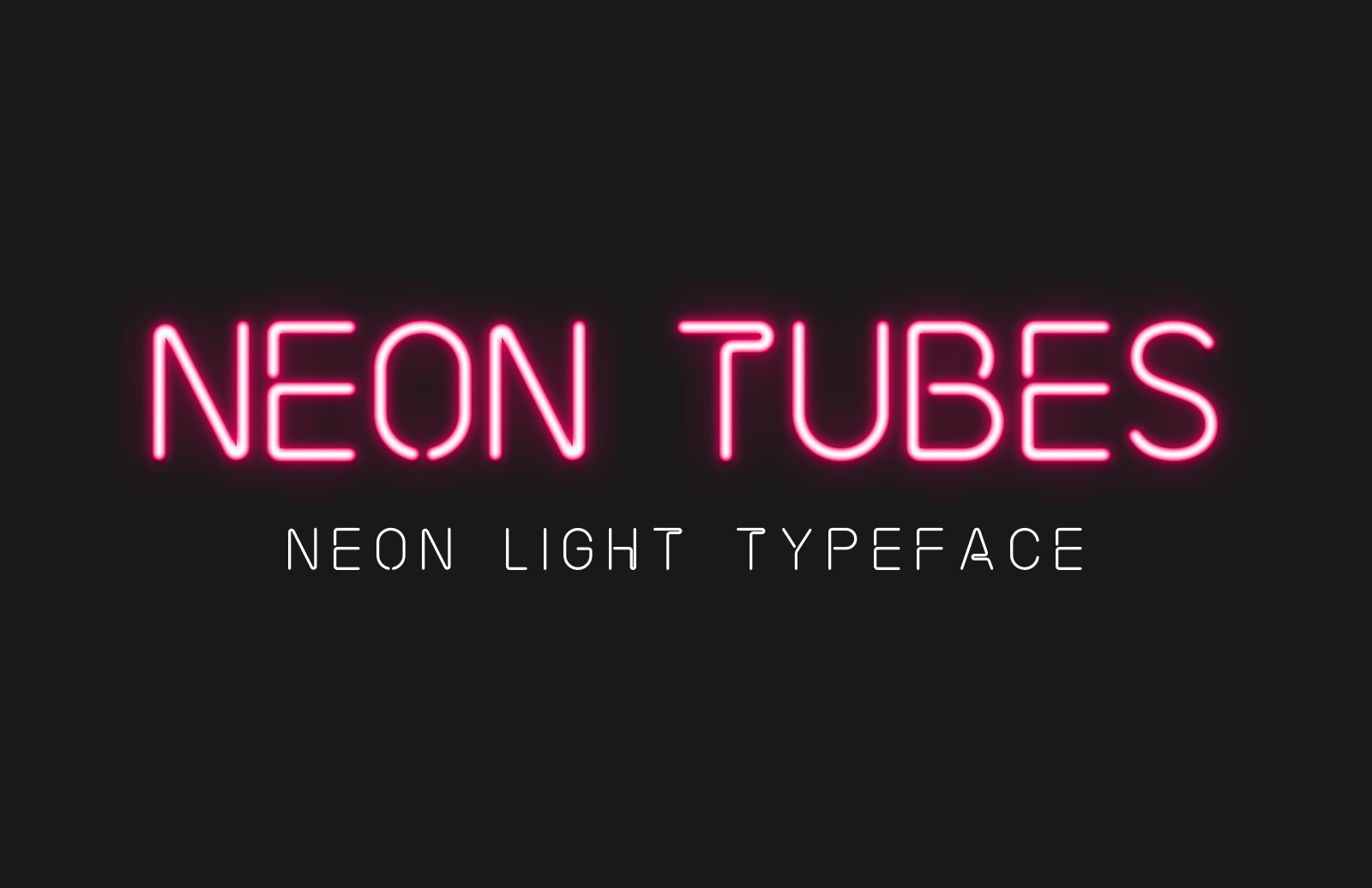 Neon Tubes Font 2 Preview 1