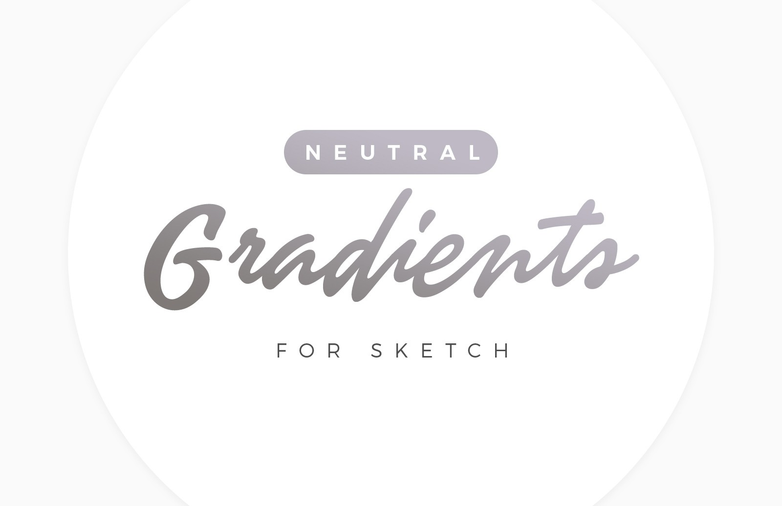 Neutral Gradients for Sketch