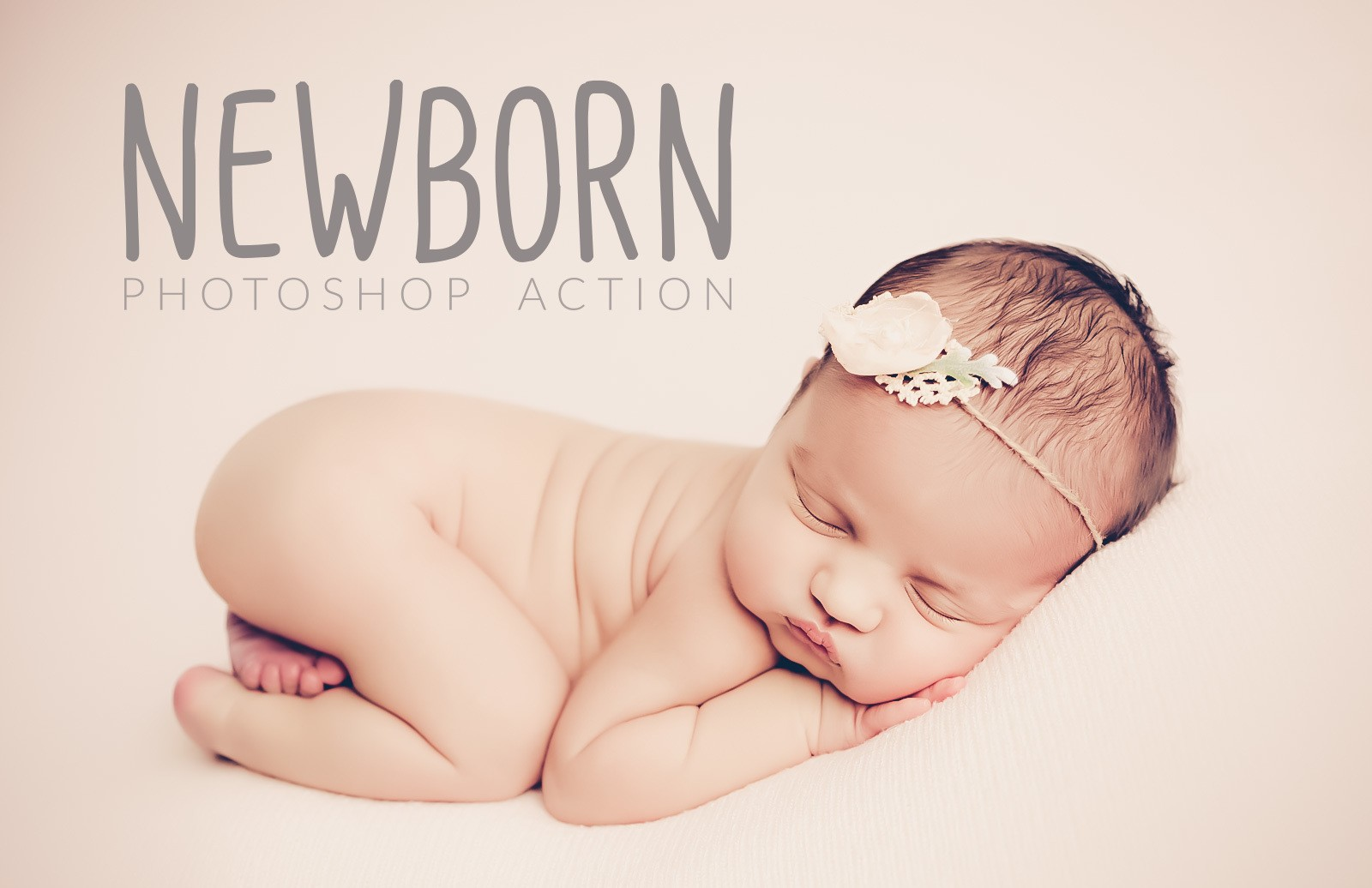 Newborn Photoshop Action Preview 1