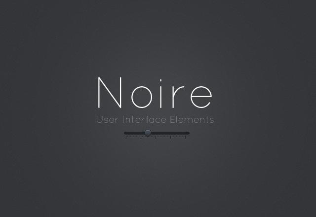 Large Noire  Ui  Kit  Preview1