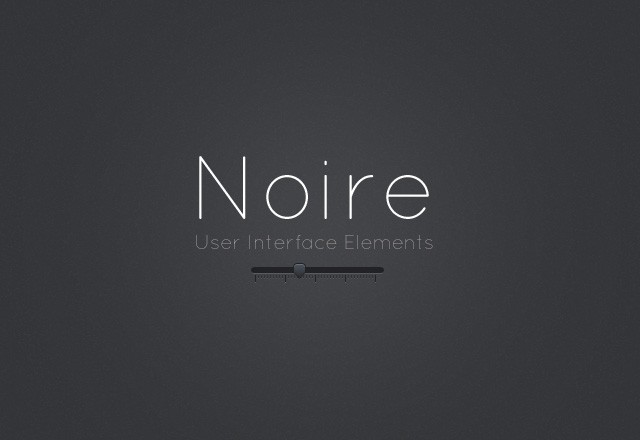 Noire UI Elements