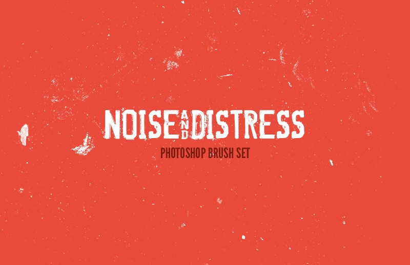 Noise & Distress Photoshop Brushes