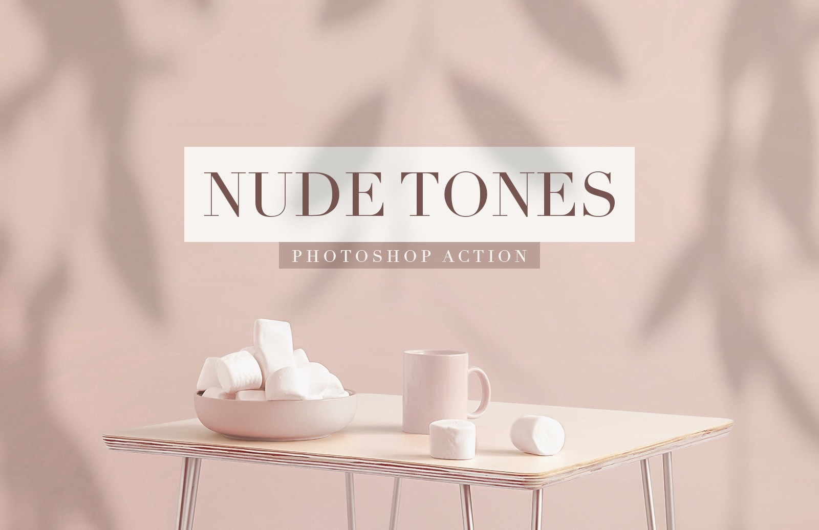 Nude Tones Photoshop Action Preview 1