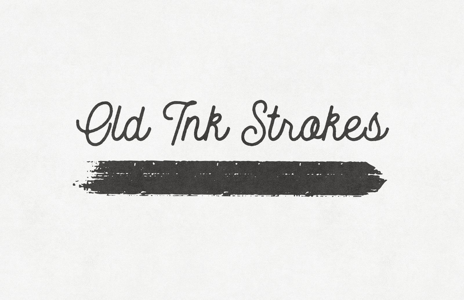 Old Ink Strokes – Illustrator Brushes