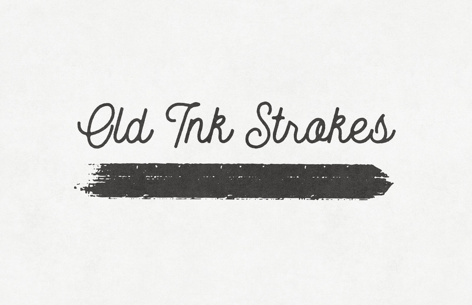 Old Ink Strokes – Illustrator Brushes