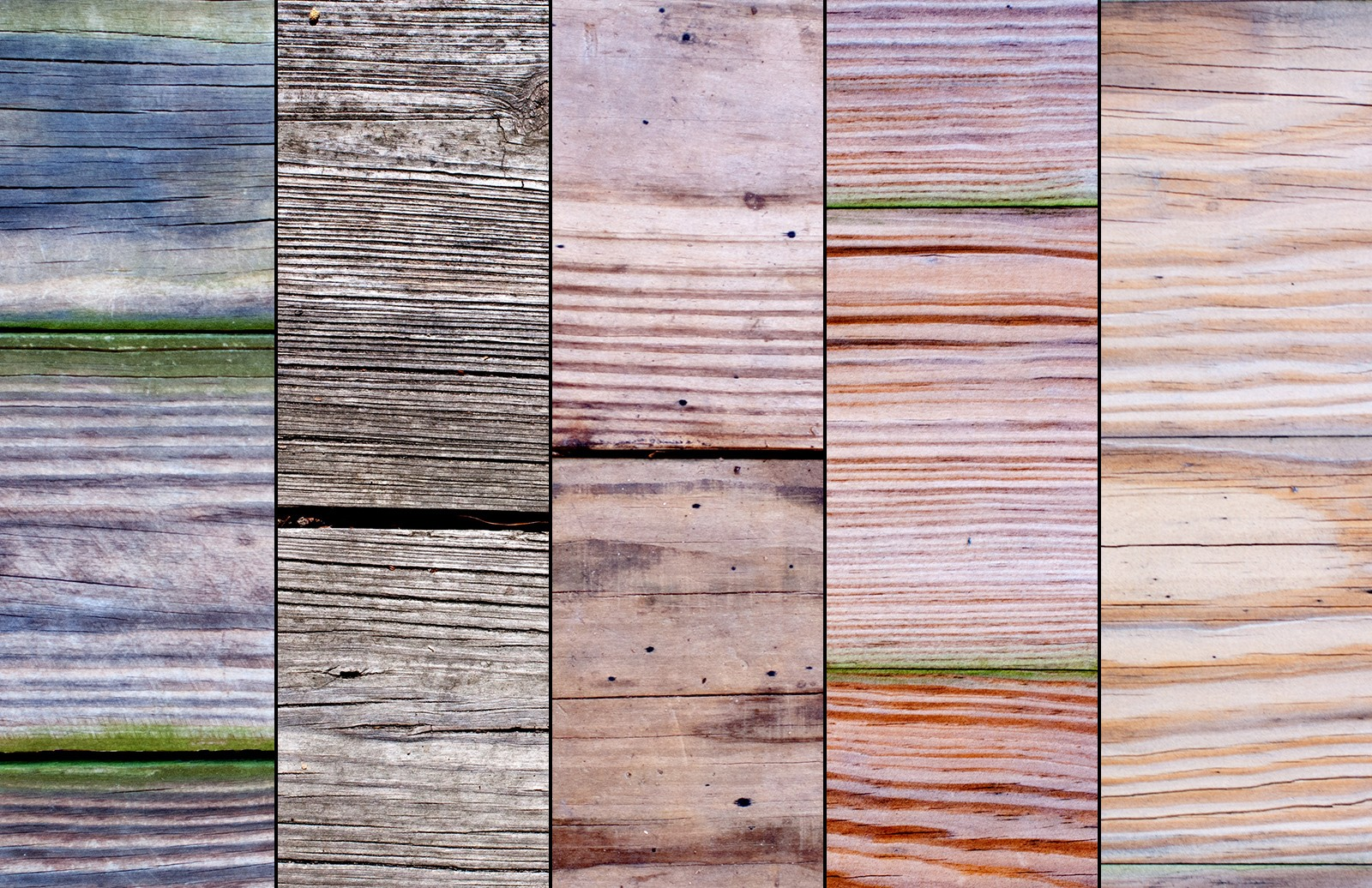 Old Wood Plank Textures Preview 2