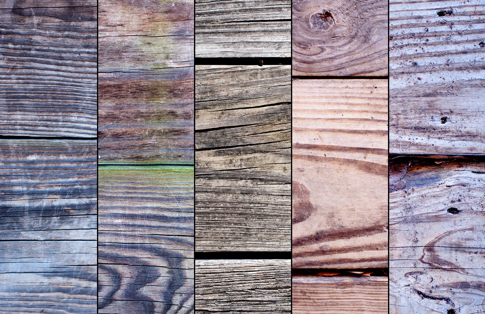 Old Wood Plank Textures Preview 3