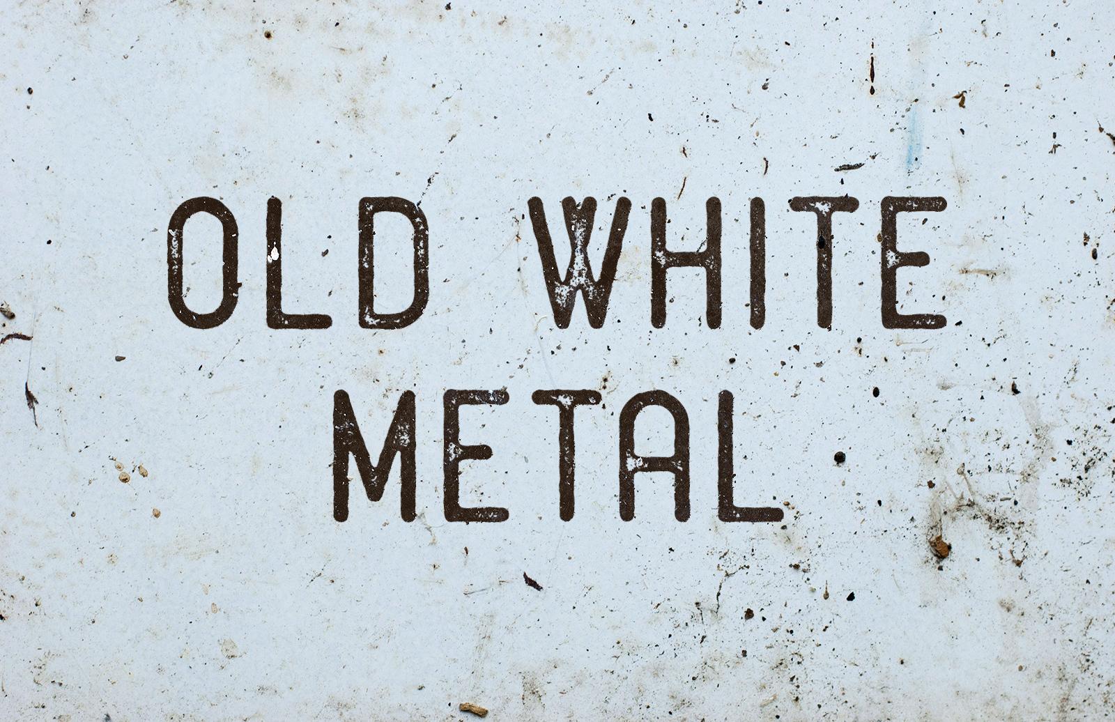 Old White Metal Textures 1