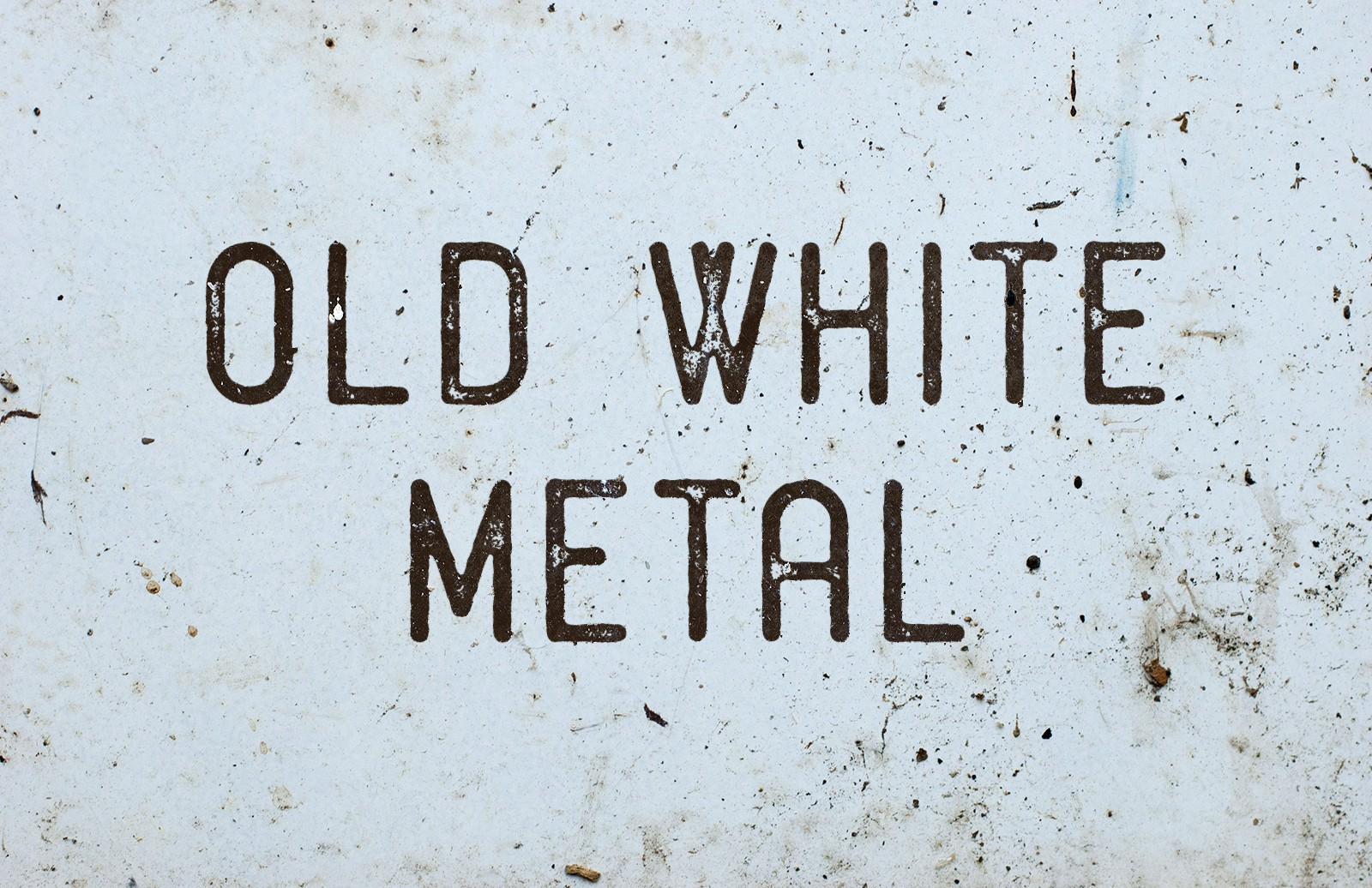 Old White Metal Textures Preview 1