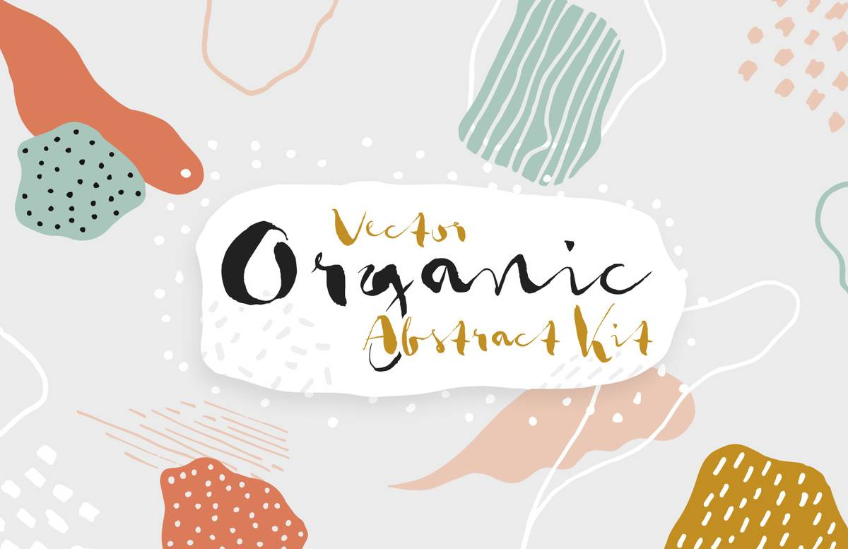 Organic Abstract Kit Preview 1