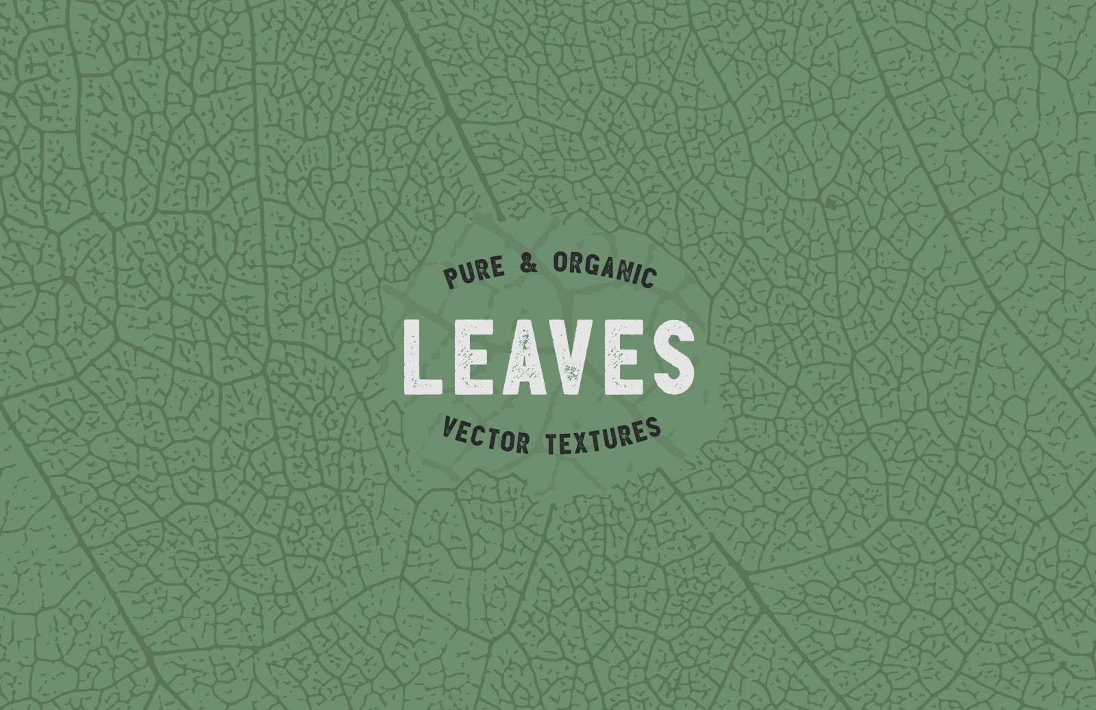 Organic Leaves Vector Textures