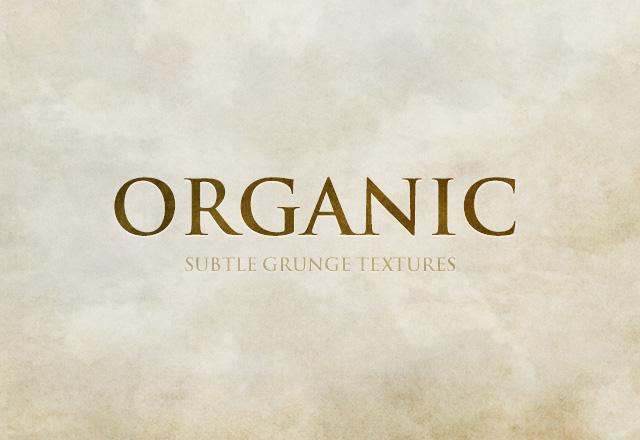 Organic Subtle Grunge Textures