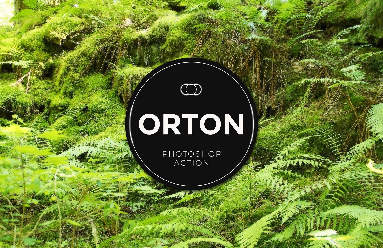 Orton Glow Landscape Photoshop Effect Preview 1