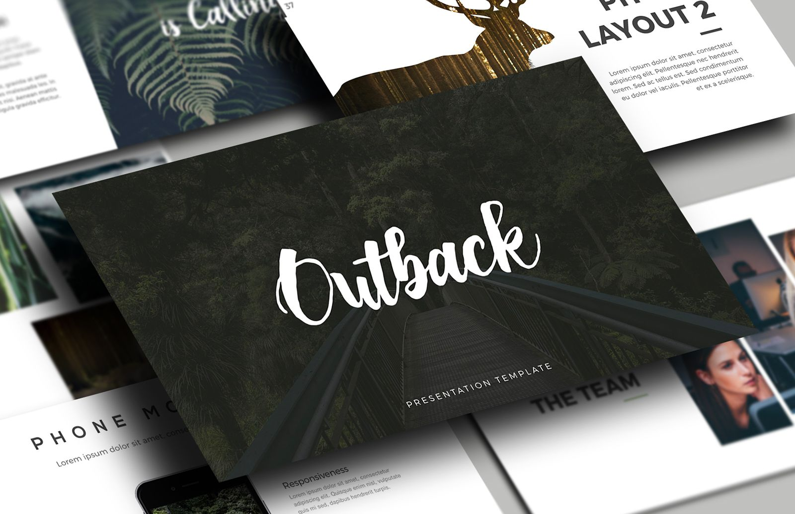 Outback  Presentation  Template  Preview 1