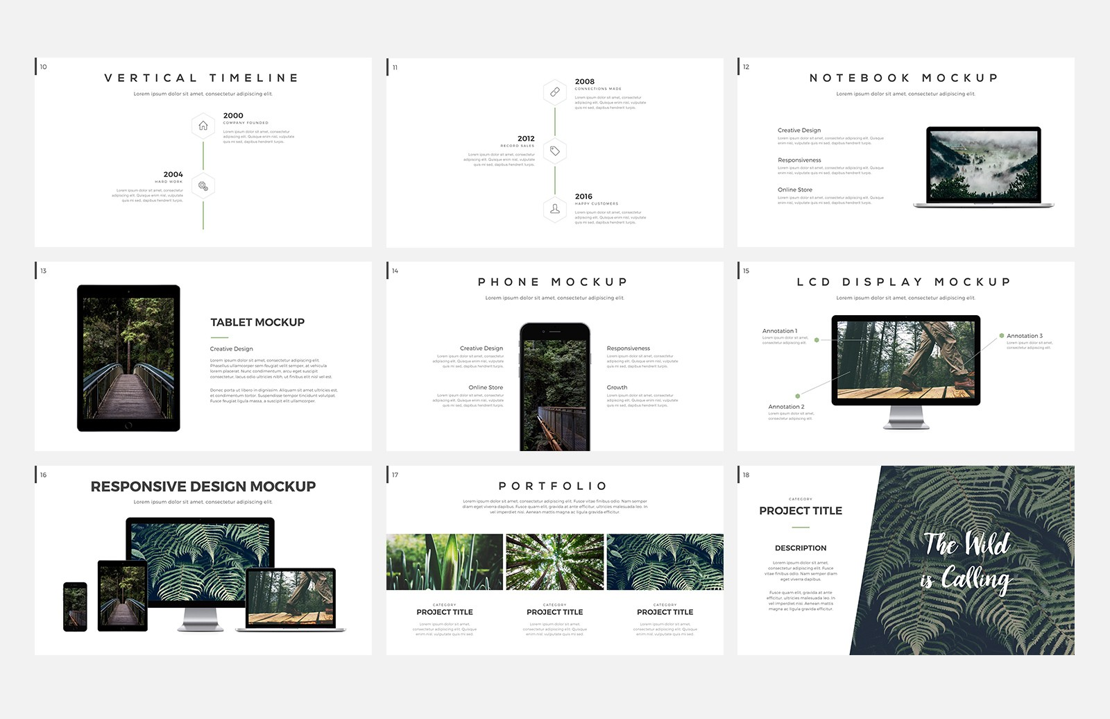 Outback  Presentation  Template  Preview 3