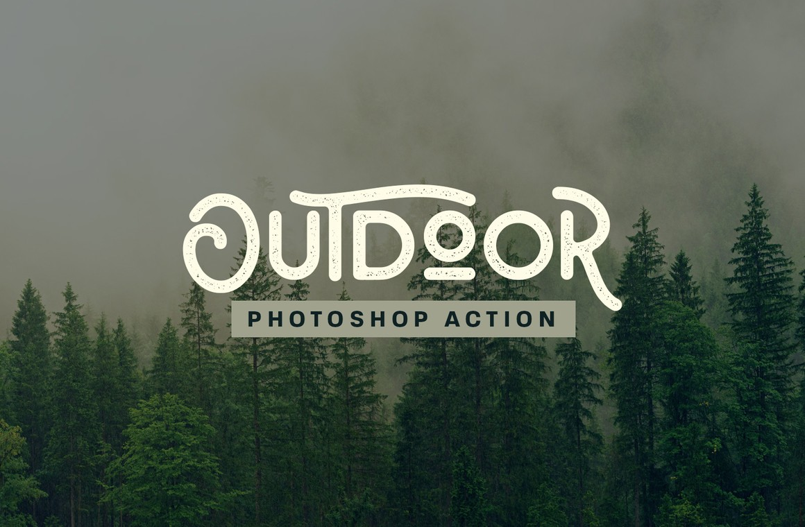 Outdoor Photoshop Action
