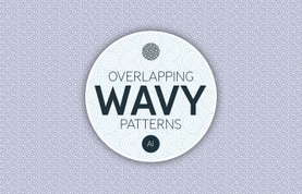 Overlapping Wavy Patterns