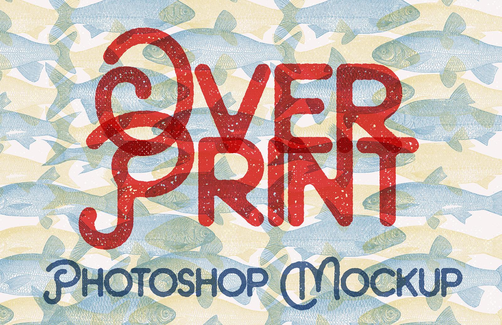 Overprint Photoshop Mockup Preview 1