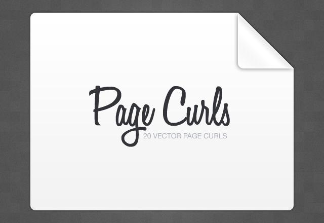Vector Page Curls