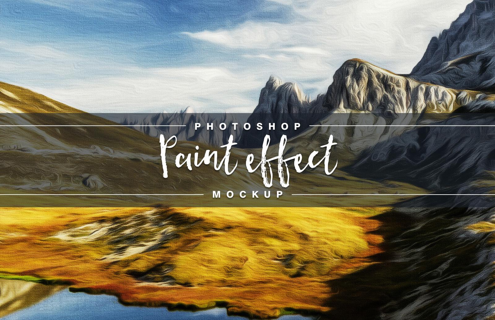 Paint Effect Mockup