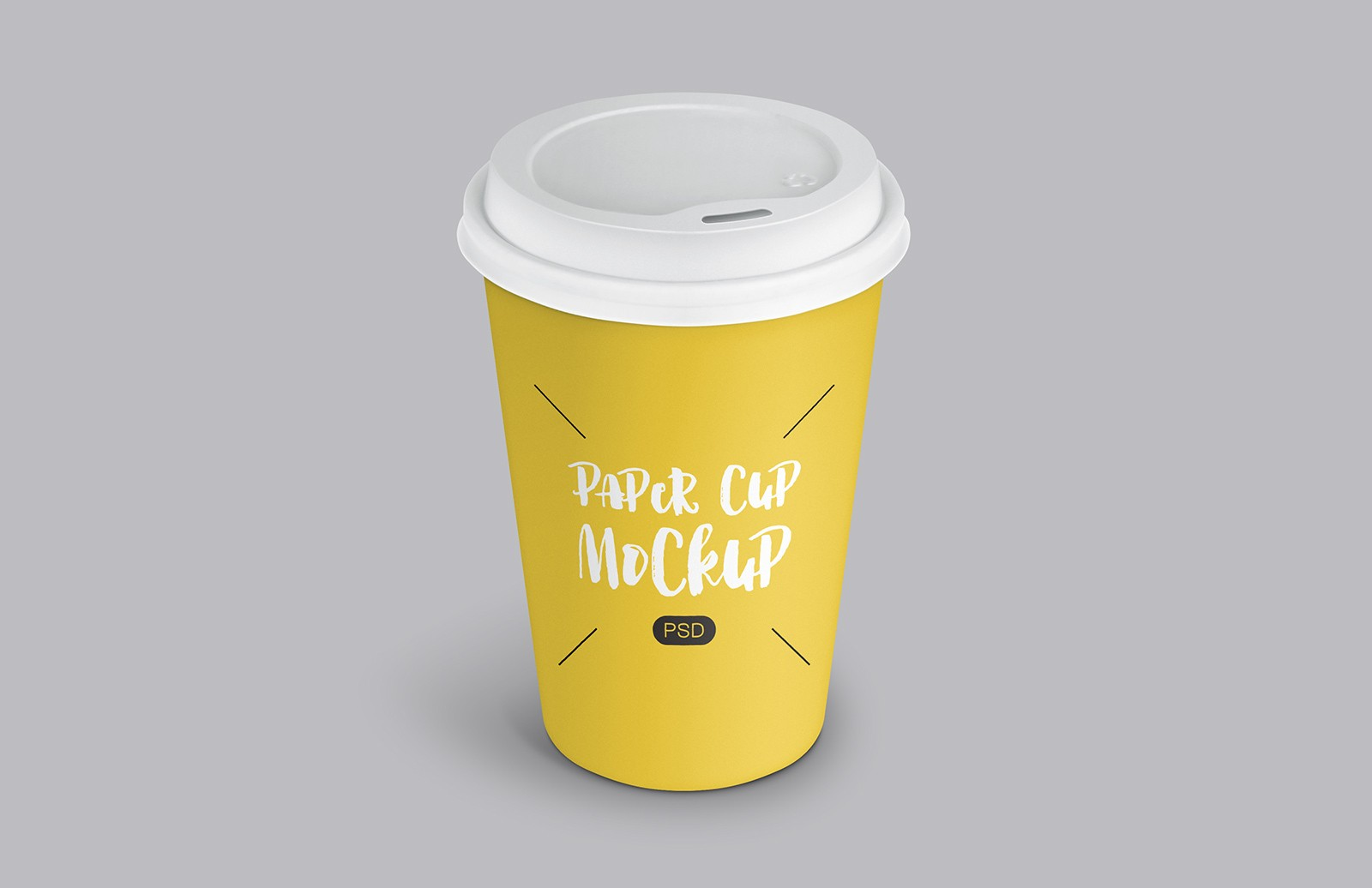 Paper Coffee Cup Mockup Preview 1
